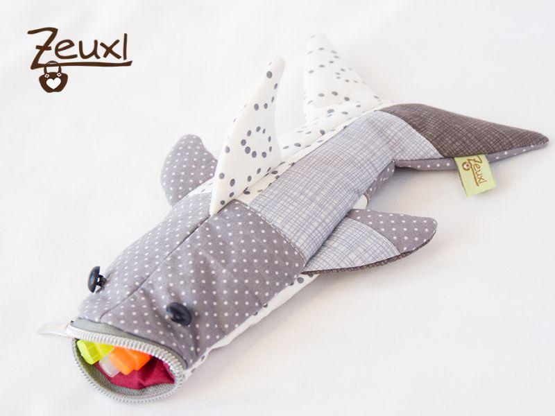 Stiftemäppchen Haifisch - Zeuxl